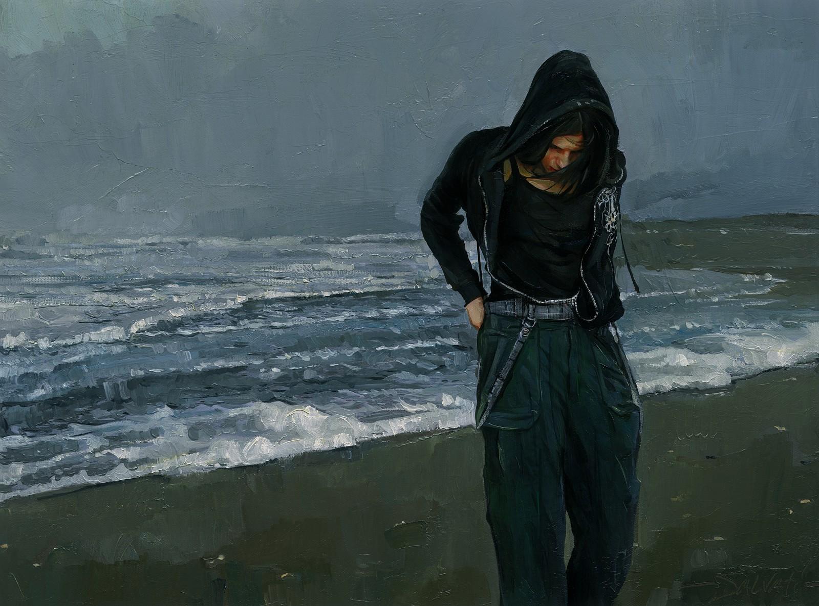 """Paintings by American Artist """"Jim Salvati"""""""
