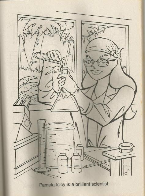 1997 Batman Robin Guardians Of Gotham City Coloring Book