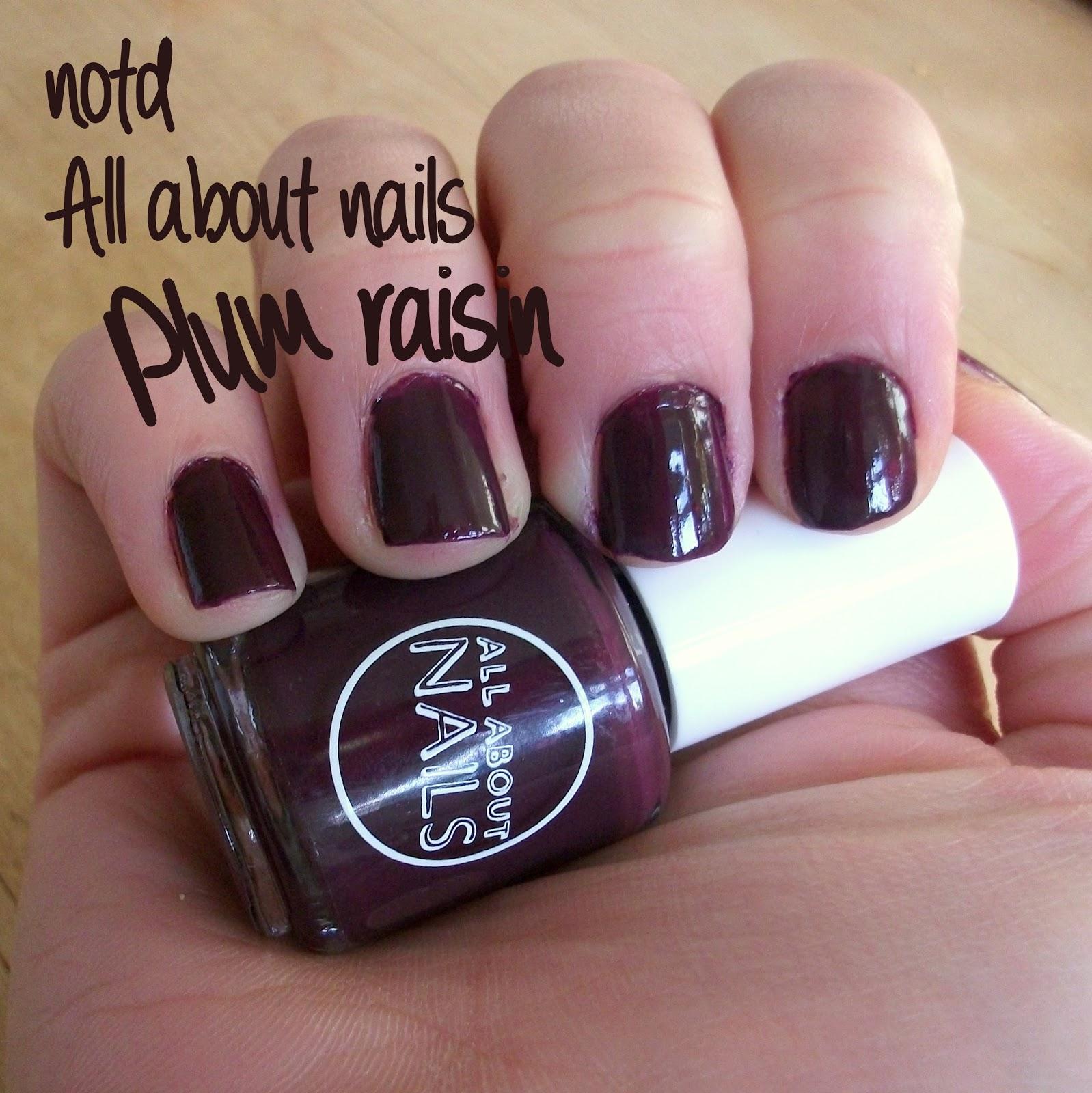 GemSeren UK Beauty Blog: NOTD: All About Nails (Tesco