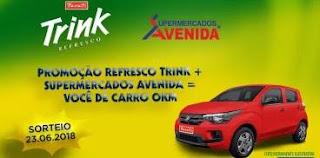Promoção Trink Refrescos 2018 Aenida Supermercados Carro Zero