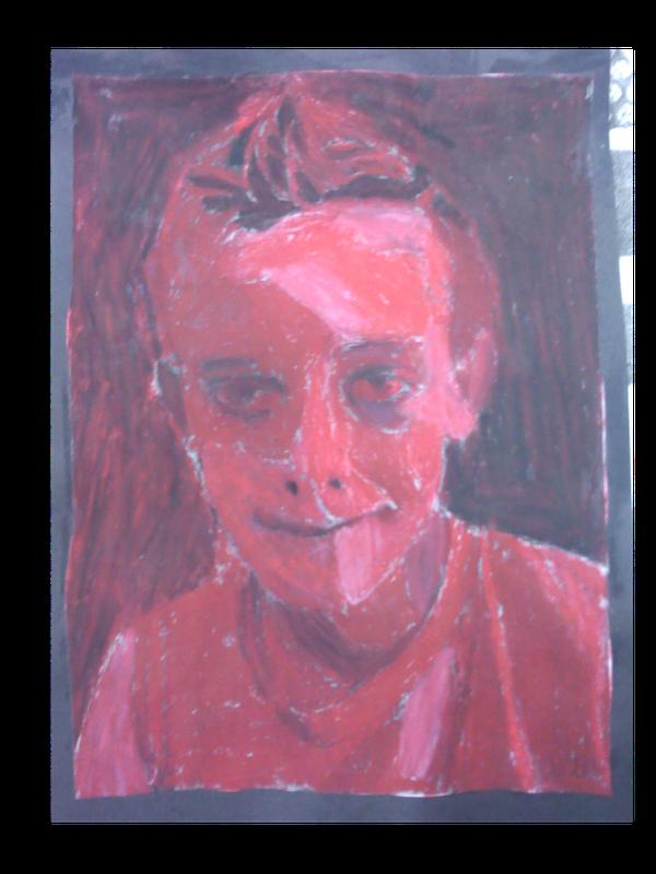 Harvest Artists Blog 6th Grade Self Portraits Student Work
