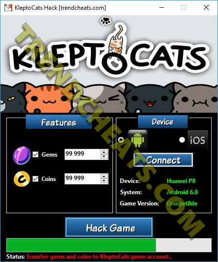 how to get free coins in kleptocats
