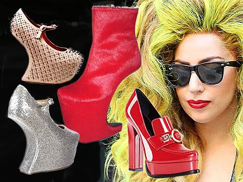 high heels Lady Gaga