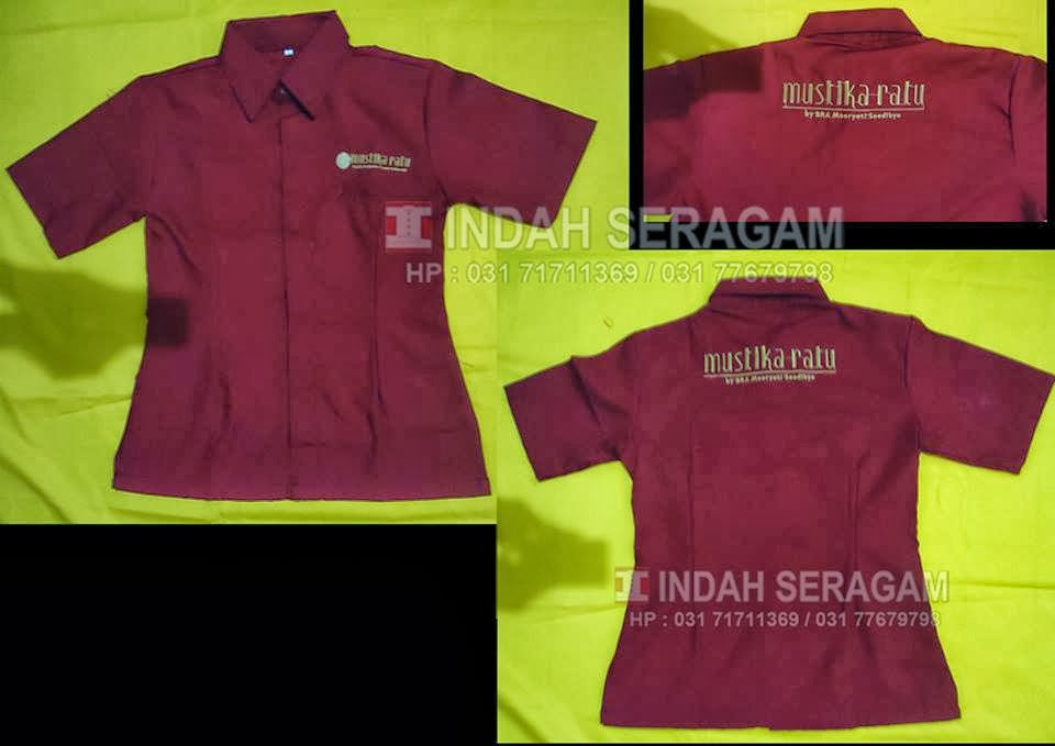 Indah seragam mustika ratu uniform for Baju uniform spa