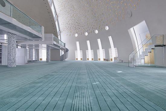 Desain interior masjid moderen