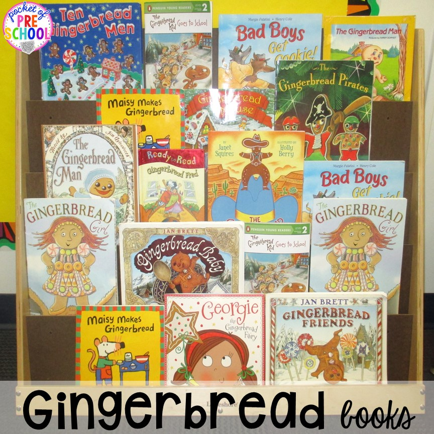 preschool books with activities gingerbread book comparison retelling amp writing pocket 494
