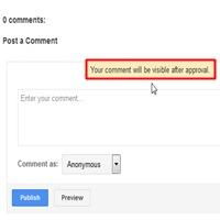 Cara Mengaktifkan Moderasi Komentar Di Blog Terbaru