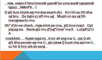 Bahasa Chat Yang Sulit Dipahami