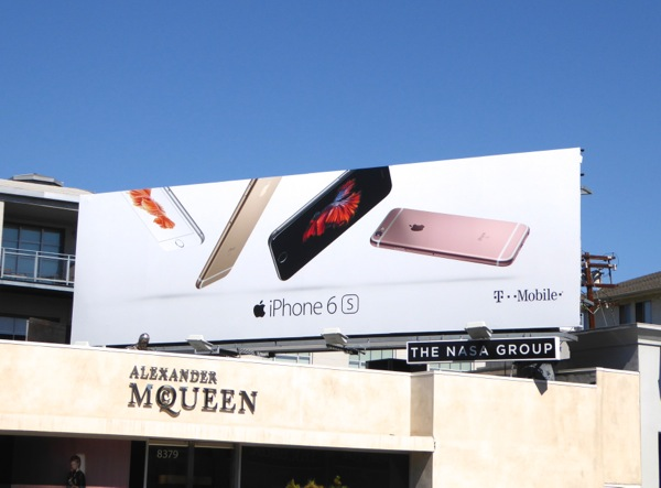 Apple iPhone 6s billboard