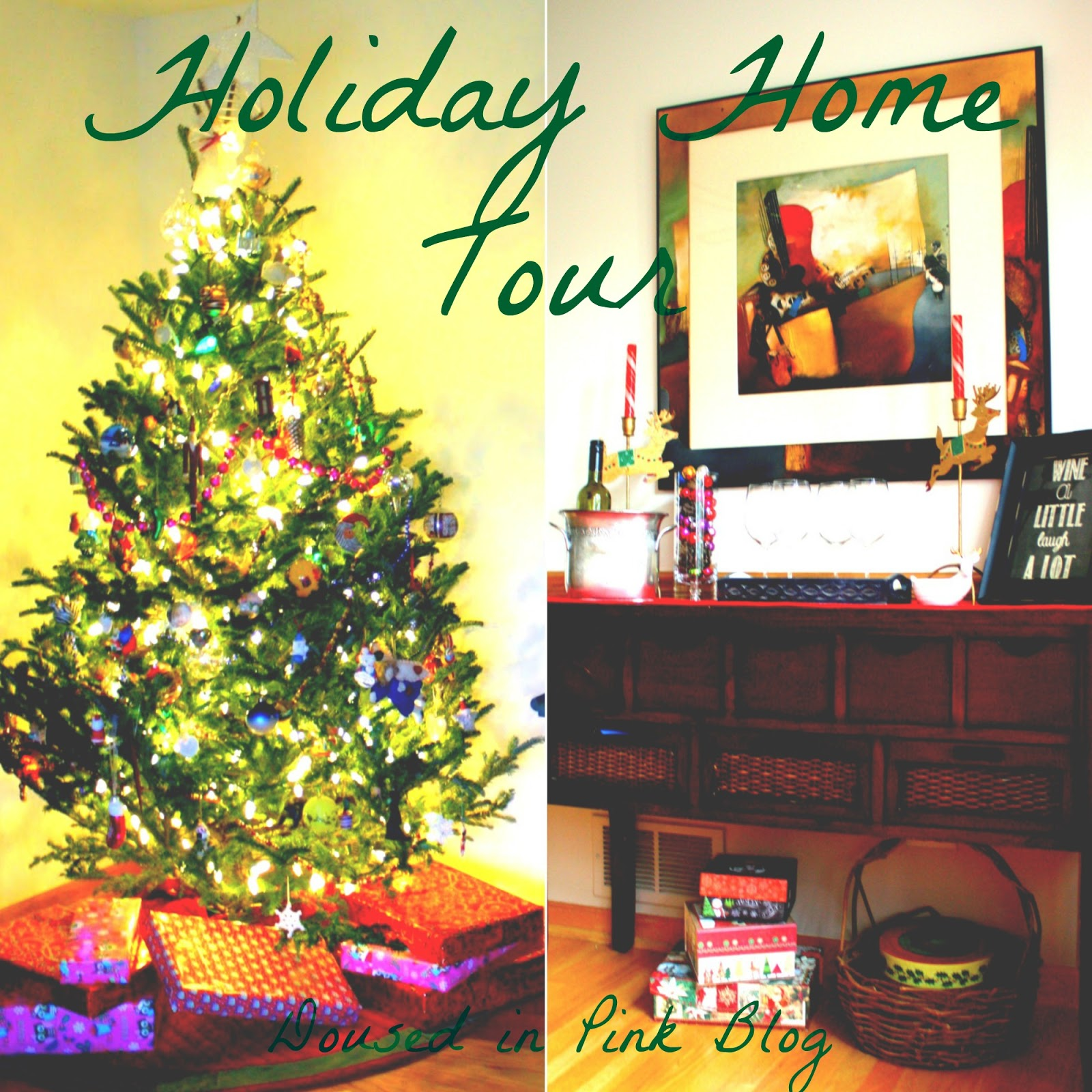 Holiday Home Tour 2015 - Doused in Pink | Chicago Fashion + Style Blog
