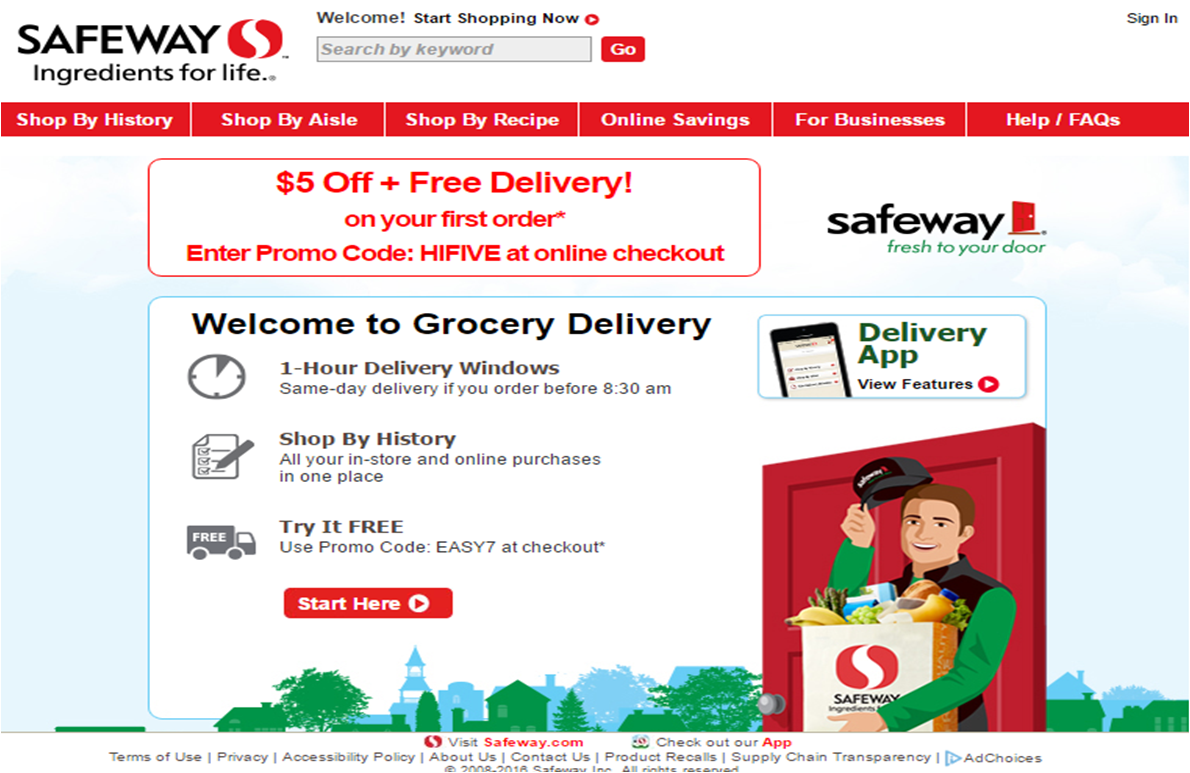 Safeway Get 5 off your groceries plus free food The Crazy