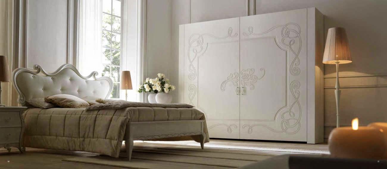 Design interior mobila dormitor de lux Italia - Design Interior | Amenajari interioare - Bucuresti | Mobila Italia - dormitor italia pat Eros