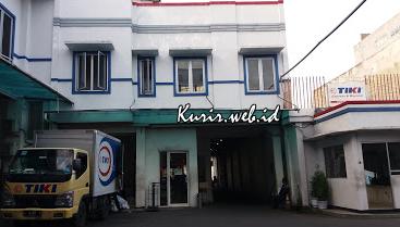 Alamat agen TIKI di Surabaya.