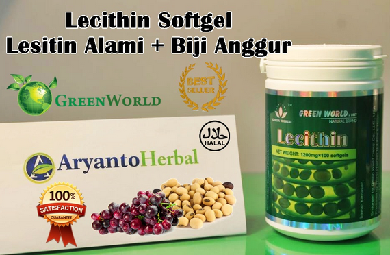 Testimoni Lecithin Softgel