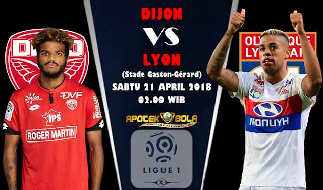 Prediksi Dijon vs Lyon 21 April 2018