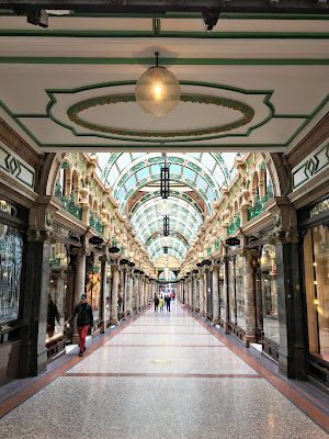 Victoria Quarter shopping in Leeds