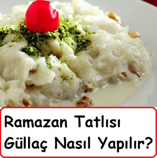 Ramazan Tatlısı Güllaç Nasıl Yapılır