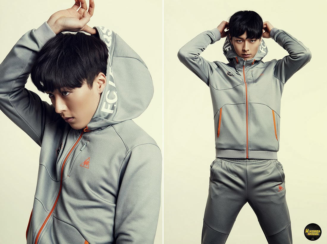 Korea Model모델 / Idol아이돌: 張基龍 - 2014 lecoqsportif