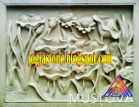 Relief batu jogja atau batu putih