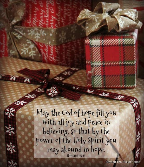 bible verse, hope, advent, God's Word, http://www.beyondthepicket-fence.com/