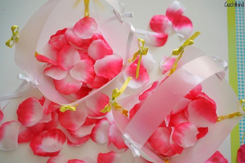 Blumenkörbchen basteln