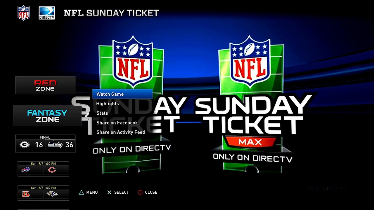 Does Directv Have Internet Service >> Does Dish Have Nfl Sunday Ticket - Sunday Choices