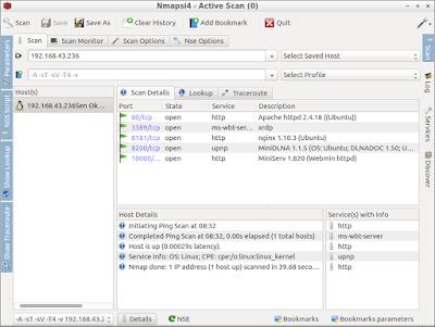 How to install Nmap GUI on Lubuntu 16.04