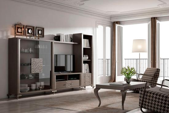Muebles modulares salon modernos mueble de saln para for Vajillas modernas online