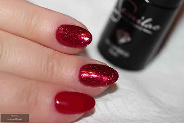 semilac classic wine 028 manicure