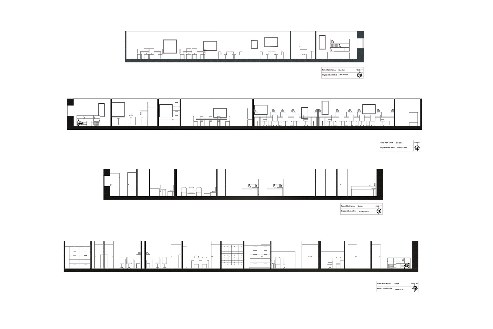 Floor Plan Furniture Office Interior And Furnishing Ocad University Hani