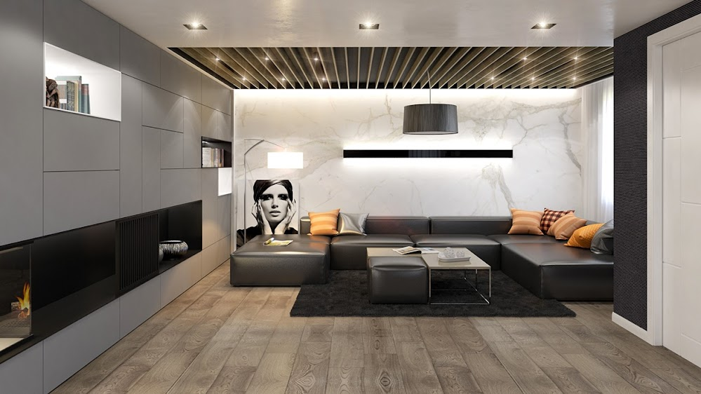 marble-accent-wall