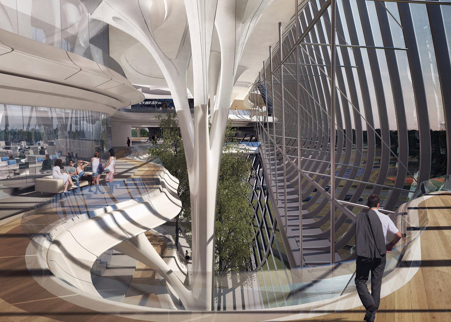 Happy Architect Zaha Hadid Architects Wins Contest For New