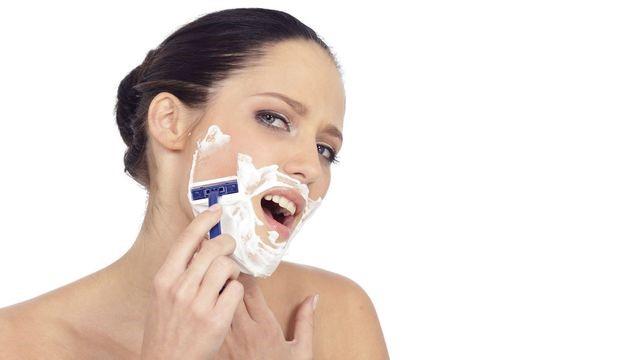 raser - raser le visage - nouvelle tendance beaute