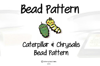 Cute Peyote or Brick Stitch Bead Weaving Pattern