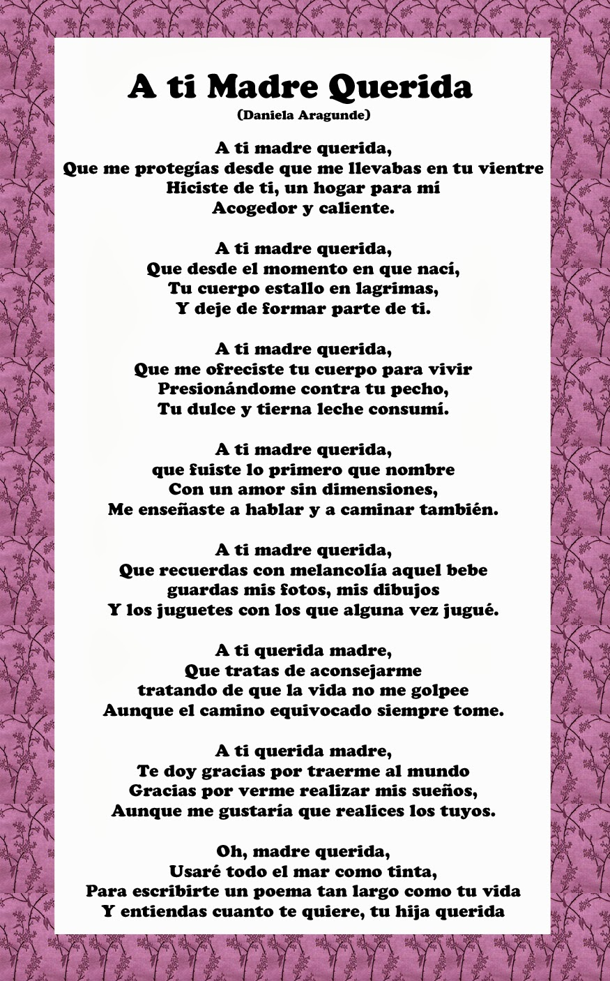 Mothers Day Quotes In Spanish. QuotesGram
