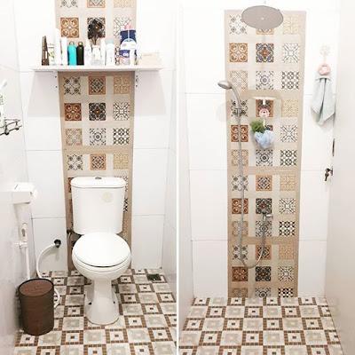 ukuran kamar mandi sederhana cantik