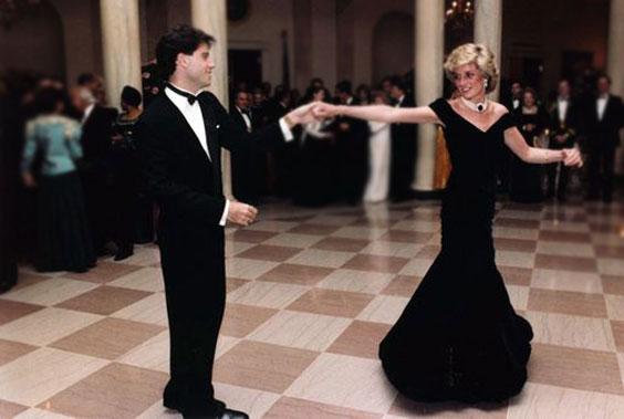 John Travolta e Diana