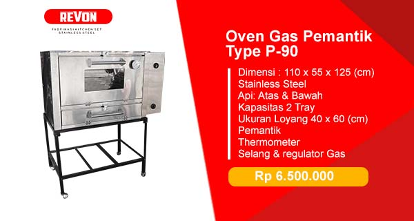 Jual Oven Gas Stainless Steel
