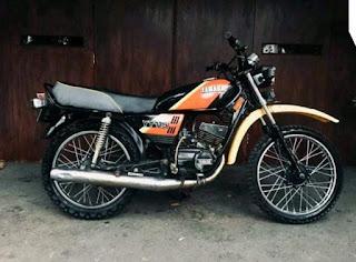 Jual Yamaha Trail Tuwa , YT115cc Tahun 1996