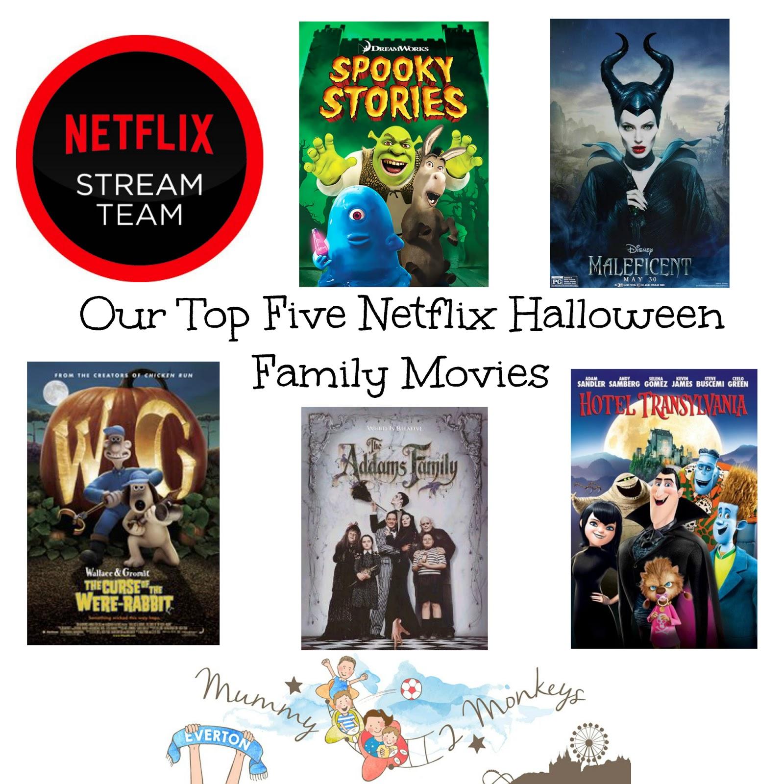 our top five netflix halloween movies #streamteam | playdays and runways
