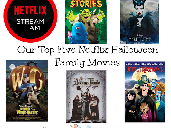 Our Top Five Netflix Halloween Movies #StreamTeam