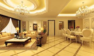 Thiết kế nội thất phòng giám đốc theo phong cách tân cổ điển