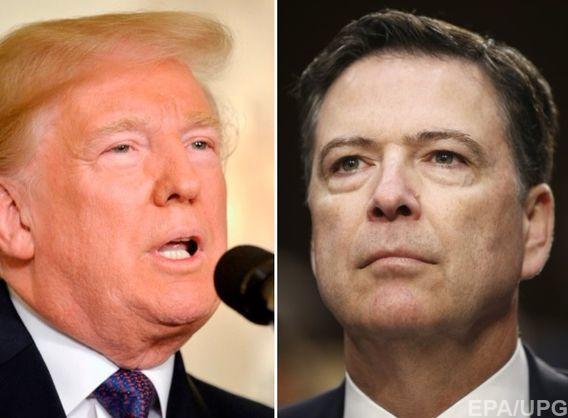 """""""Брехун"""" проти """"слабака"""". Трамп та екс-голова ФБР розв'язали публічну війну"""