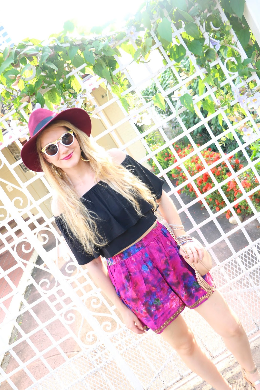 Boho Gypsy style, perfect for Summer festivals!