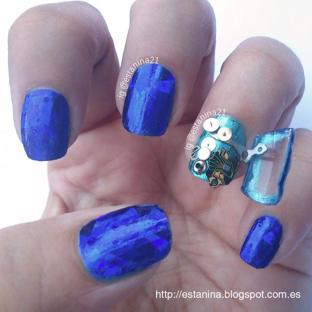 Steampunk-Nails