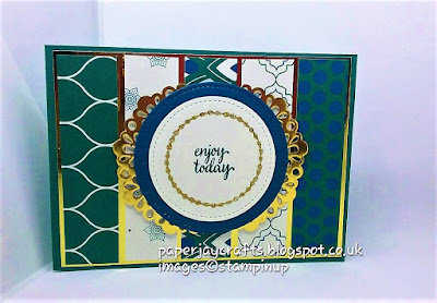 Paperjay Crafts, Eastern Palace Collection Stampin Up