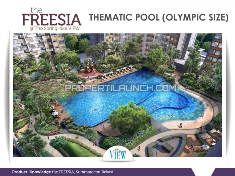 Thematic Pool @ SpingLake View Summarecon Bekasi