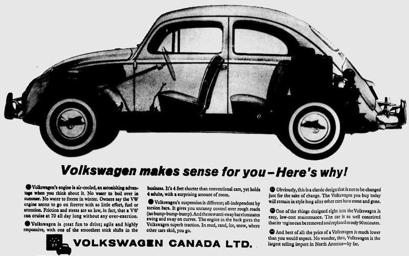 Anzeige VW Kanada