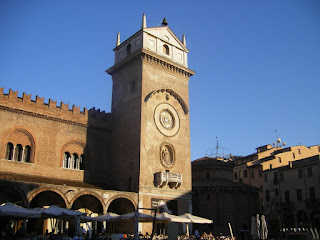 The Torre dell'Orologio Gonzaga built for Mantua
