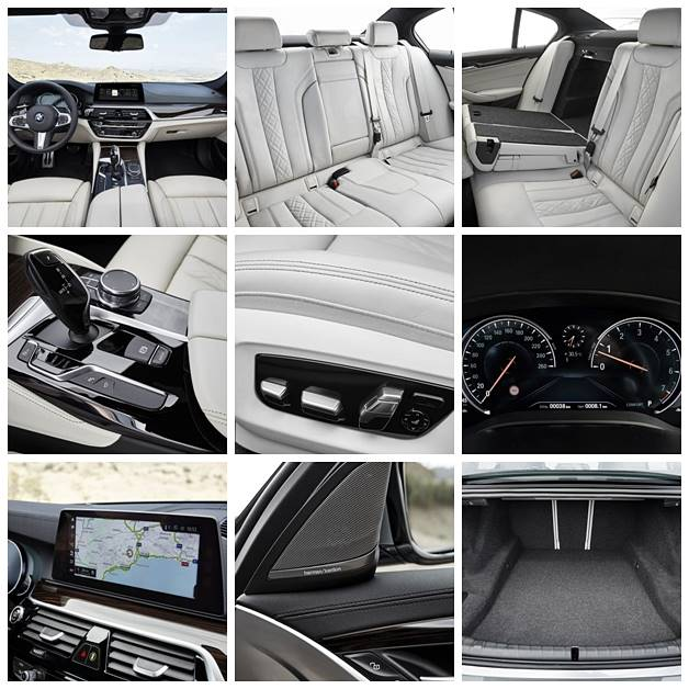 2017 BMW G30 5 Series Sedan Design and Interior